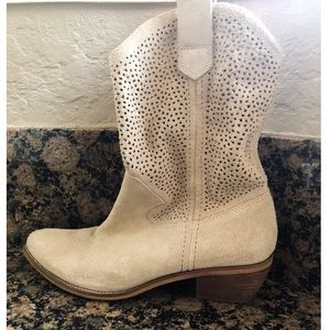 Suede BCBGeneration Cowgirl boots